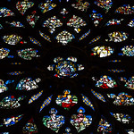 The rose window of Sainte-Chapelle