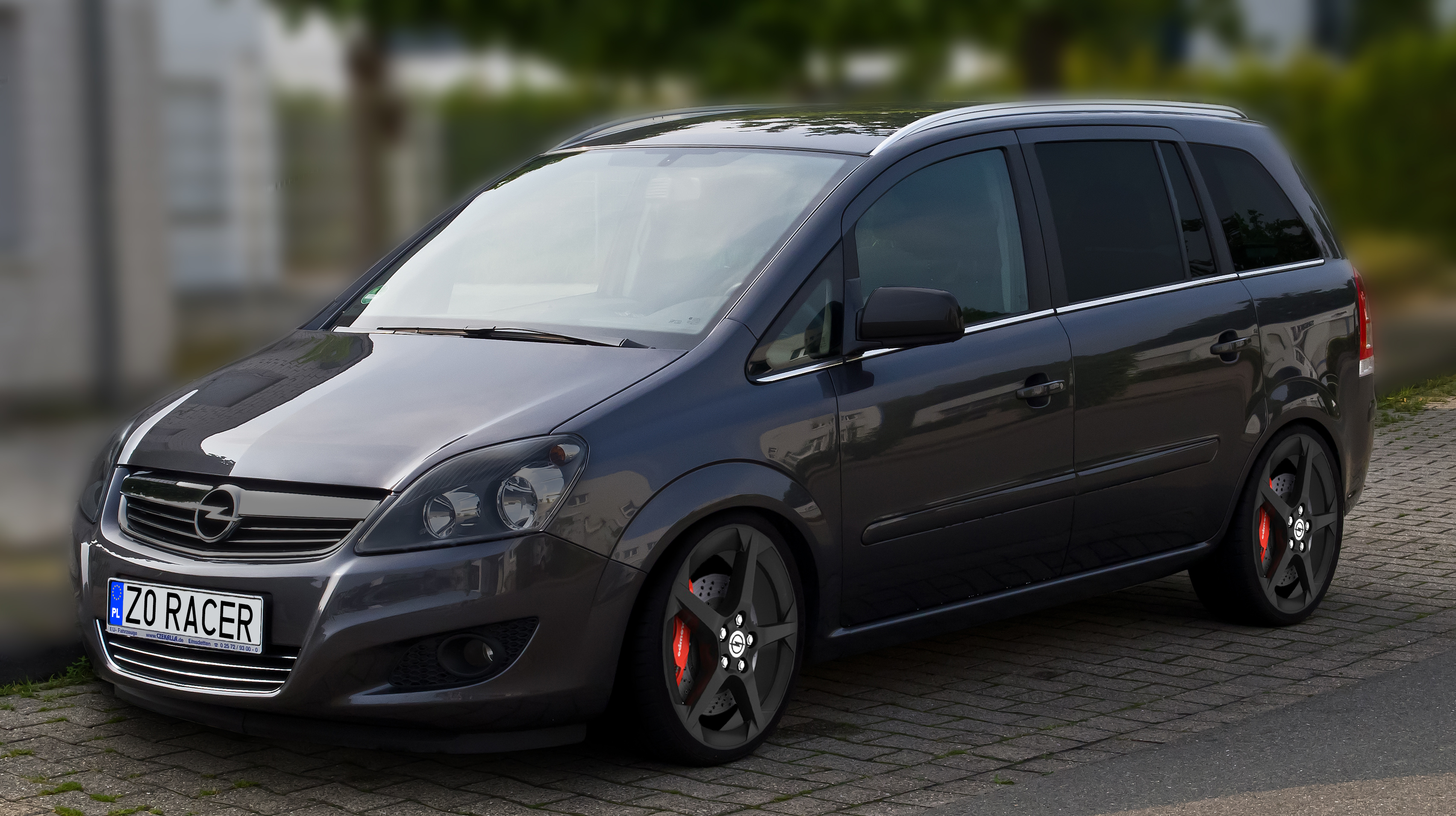 Audi a6 klub polska tuning jakie to auto propozycja zabawy - Opel Zafira Virtual Tuning