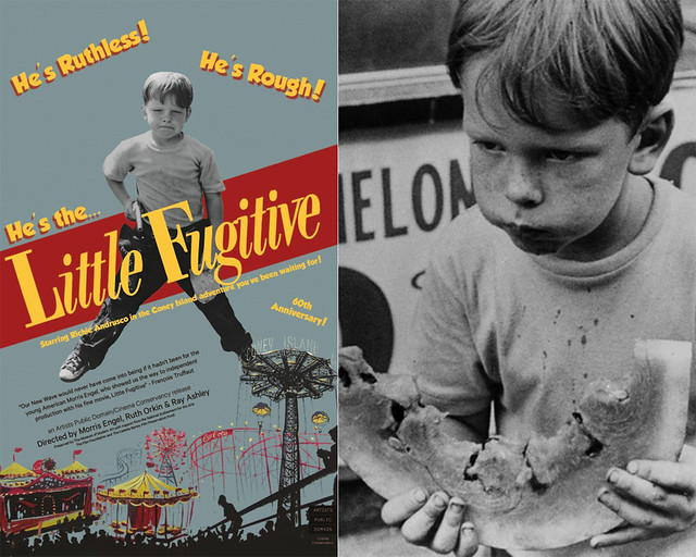 Little Fugitive. Images courtesy Orkin/Engel Photo Archive and APD/Cinema Conservancy.