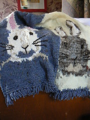 The Two Rabbit Scarf