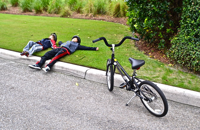 The Breakers Hotel, Palm Beach, Florida - Bike Rentals - break time