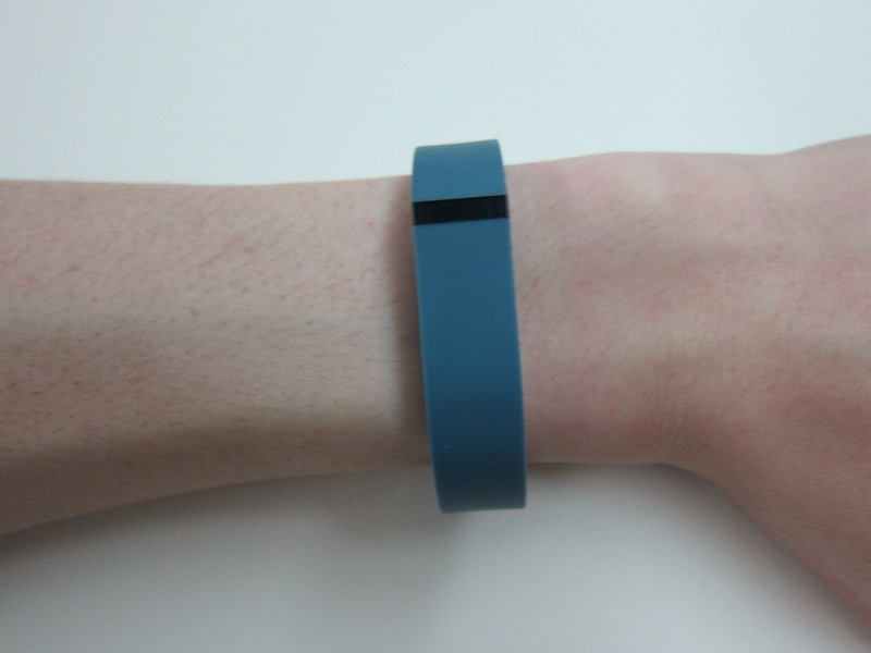 Fitbit Flex - Wearing It