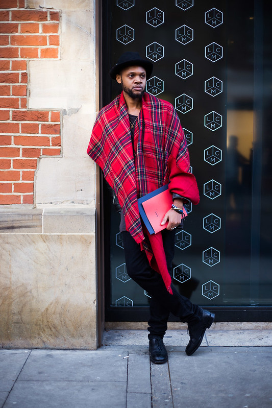 Street Style - Kieron, London Collections: Men