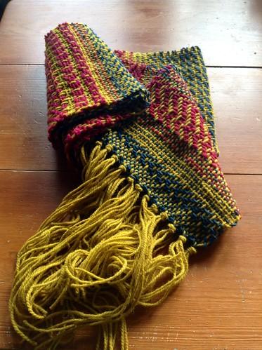 Twill Wool Scarf