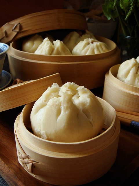 Steamed Char Siu Bao 叉燒包 (Cantonese Barbecue Pork Buns)