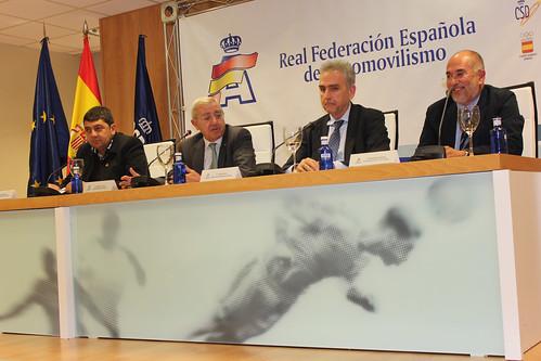 Presentación Campeonato de España de Rallyes de Tierra y Todo Terreno 2014