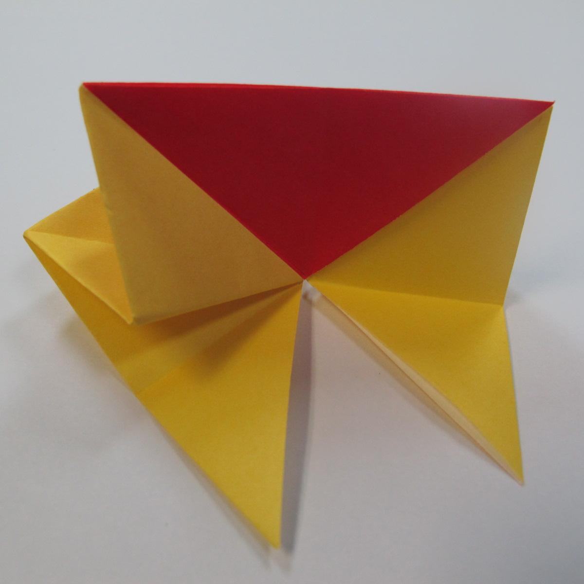 วิธีการพับกระดาษเป็นดาวหกแฉกแบบโมดูล่า 014