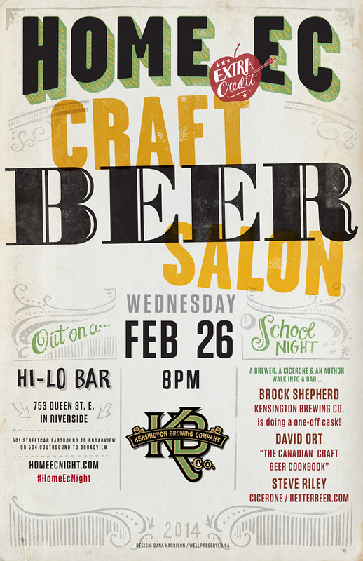 HomeEc #25: Craft Beer Salon kensington brewing company HomeEc Craft Beer