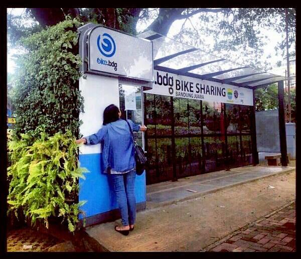 Green Shelter untuk Bandung Bike
