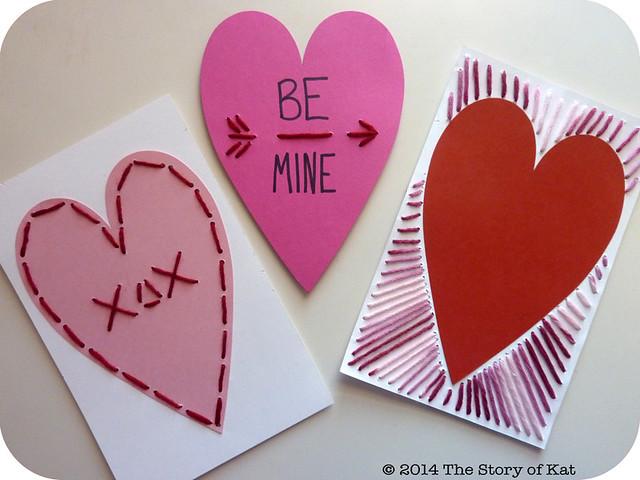 Stitched Valentines