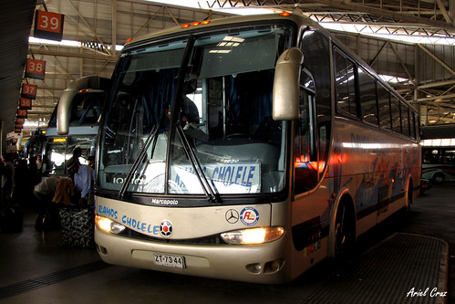 Ramos Cholele en Terminal San Borja | Marcopolo Viaggio 1050 / ZT7344