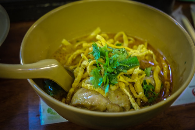 Khao Soi at Airport Plaza, Chiang Mai