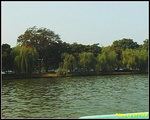 杭州 西湖 (其他景點) - 358 (西湖 湖上遊 往湖心亭 這裡是蘇堤)