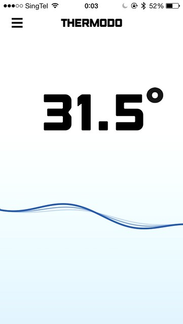 Thermodo iOS App - Temperature