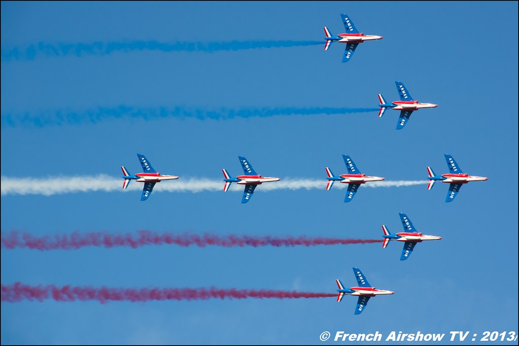 Patrouille de France 60 ans Patrouille de France, Meeting Aerien 2013