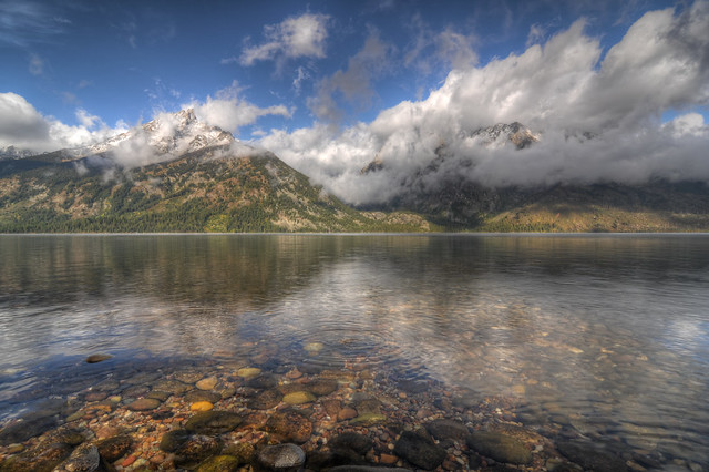 Jenny Lake, Grand Teton National Park HDR