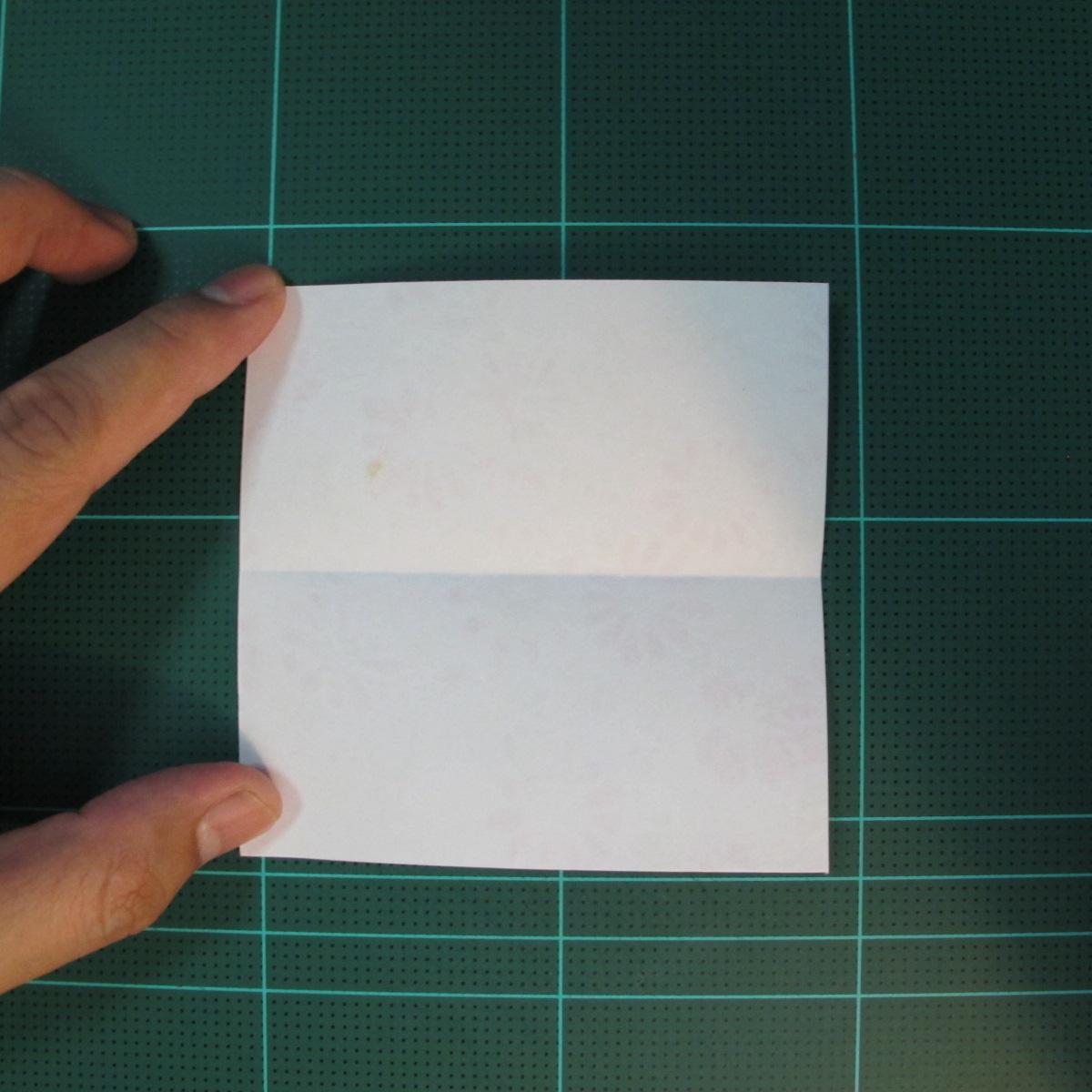 การพับกระดาษเป็นรูปเรขาคณิตทรงลูกบาศก์แบบแยกชิ้นประกอบ (Modular Origami Cube) 003