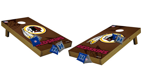 Washington Redskins Premium Cornhole Boards