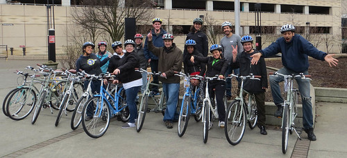 Create a Commuter - CAC group shot 2 with bikes