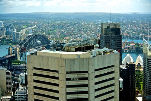 At the top of Sydney