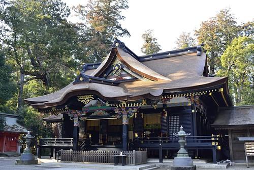 香取神宮拝殿 by leicadaisuki