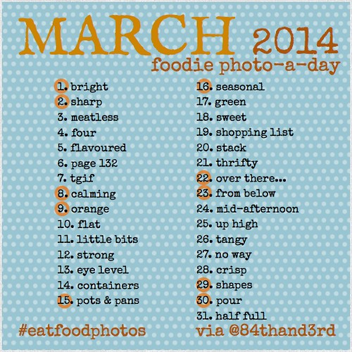 #eatfoodphotos March Food Photo-a-Day
