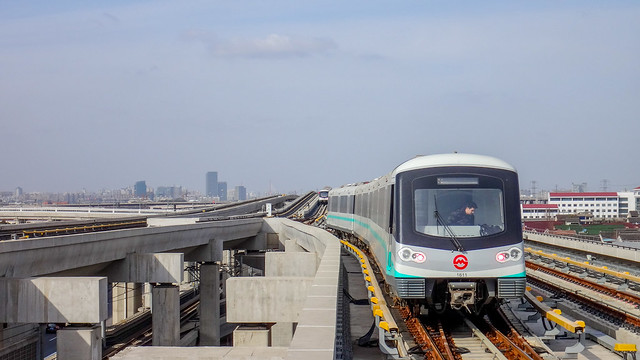 Shanghai Metro Line 16 AC19 Train