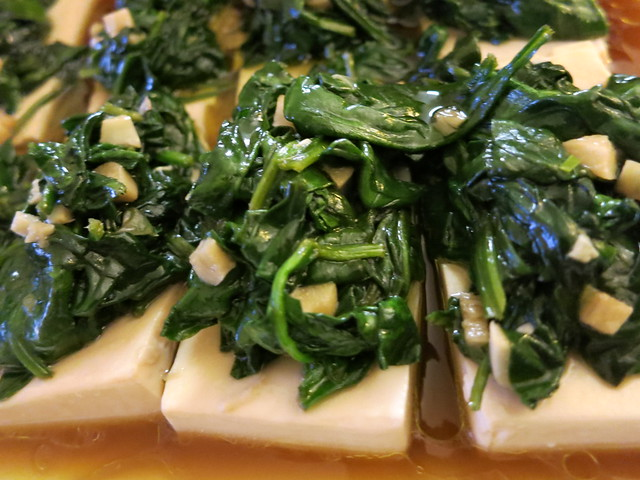 Spinach con Tokwa 001