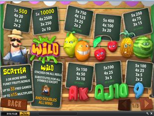 Funky Fruits Farm Slots Payout