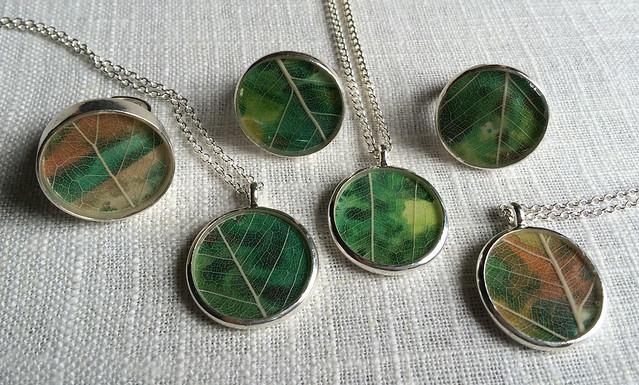 5.16 leaf jewelry