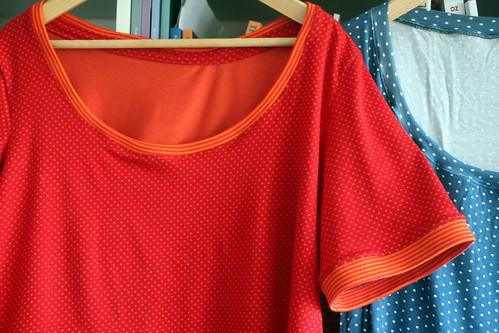 new shirts.