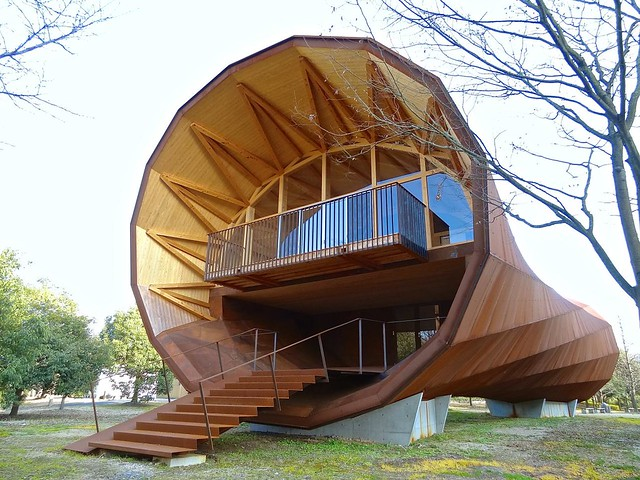 岡山県立大学同窓会館, Okayama Prefectural University, Japan