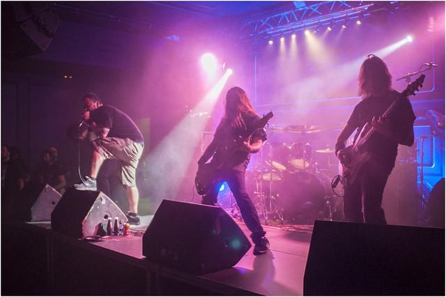 Darkness By Oath el 28 de Septiembre de 2013 en la sala Sonora (Erandio)