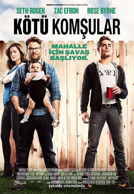 Kötü Komşular - Bad Neighbours (2014)