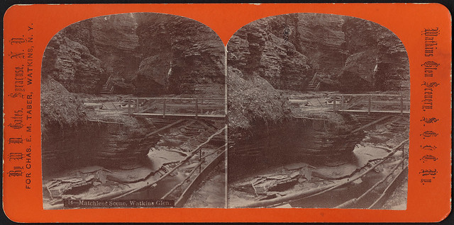 Photo:Matchless scene, Watkins Glen By Boston Public Library
