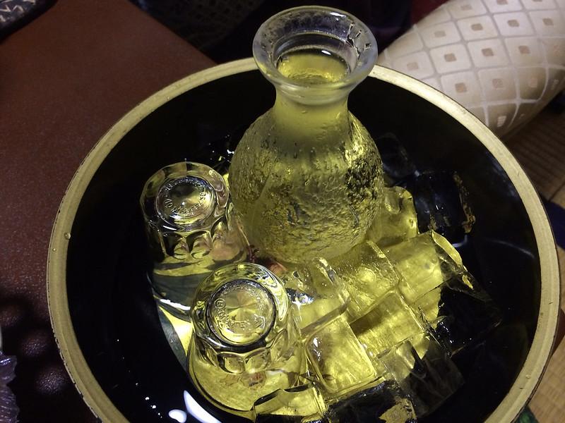 蓬莱の冷酒