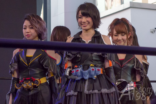 Kamen Rider Girls in Thailand Comic Con 2014