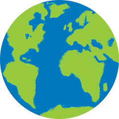aqua, earth, circle, globe,