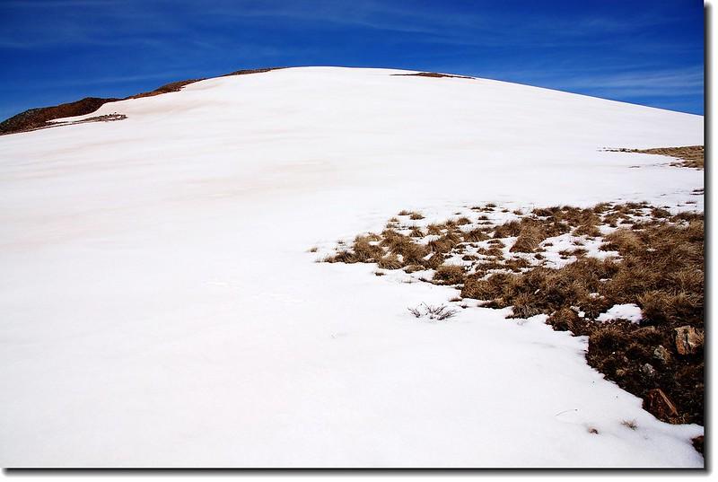 False summit of North Star Mountain