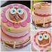 Baby owl cake & smash cale - <span>©CupCakeBite www.cupcakebite.com</span>