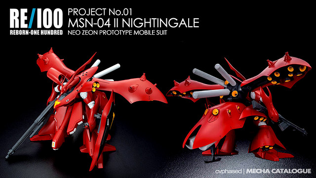 RE/100 Nightingale - Colored Prototype Shots