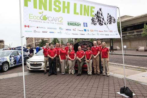 Ohio State University at the 'finish line' for the Year Three competition