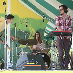 Definitely a band to watch - Sunday on the Hudson Stage (not broadcast). 6/22/14 Photo by Gus Philippas