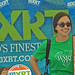 WXRT Booth at Green Music Festival