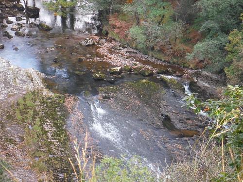 Rapids on the Afon Tawe