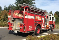 Poulsbo Fire Department Engine 71