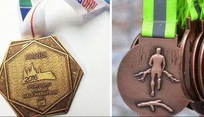 Kolik medailí máš, tolikrát jsi běžcem
