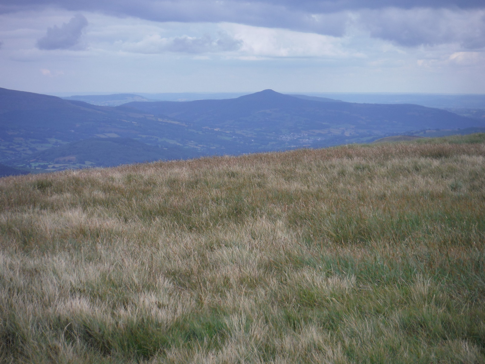 Sugarloaf/Pen y Fâl, from Waun Rydd SWC Walk 278 Breacon Beacons Horseshoe - Bannau Brycheiniog (Extension to Waun Rydd)