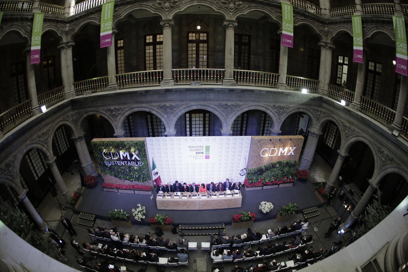 c40 mayors summit cdmx paris agreement cities4climate