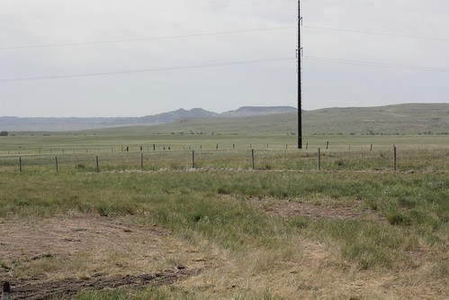 County side to south of Wyoming HWY85 on route to Cheyenne,WY